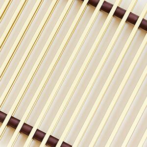 Рулонная решетка алюминиевая крашеная золото PPA 250-1000 — купить по выгодной цене с доставкой в Санкт-Петербурге (СПб).